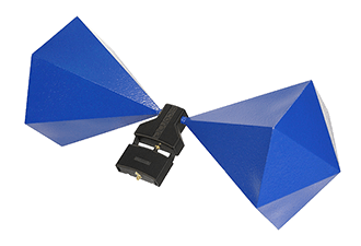 Aktive Bikonische Antenne der BicoLOG X Serie