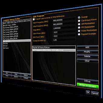 Signalgenerator Software
