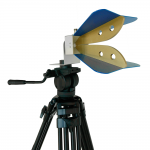 Horn Antenne PowerLOG (groß) auf Stativ