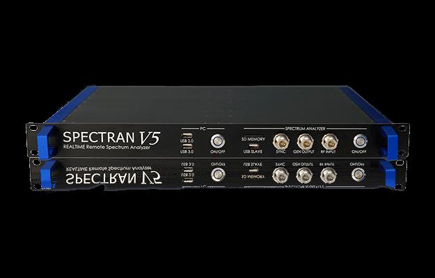 Fernsteuerbarer Echtzeit-Spektrumanalysator SPECTRAN V5 RSA