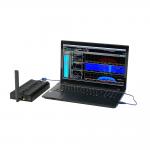 USB Echtzeit-Spektrumanalysator SPECTRAN V5 X Anwendungsbeispiel mit Laptop