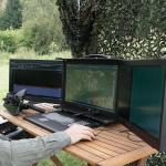Ultimativer Echtzeit-Spektrumanalysator SPECTRAN V5 Command Center Anwendungsbeispiel