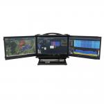 Ultimativer Echtzeit-Spektrumanalysator SPECTRAN V5 Command Center ausgeklappt