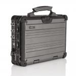 Robuster Echtzeit-Spektrumanalysator SPECTRAN V5 XFR Pro geschlossen