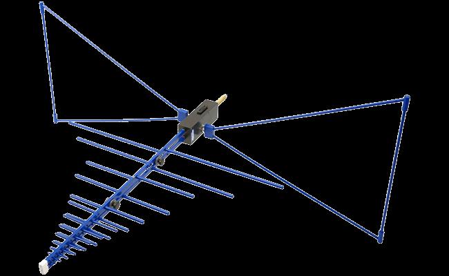 Direktionale Antennen für EMV-Messungen HyperLOG EMI