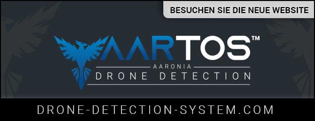 Besuchen Sie unsere AARTOS Drone Detection System Website