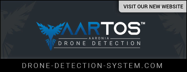 Visit our new AARTOS Drone Detection System Website