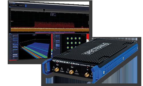 USB Echtzeit-Spektrumanalysator SPECTRAN V6 X mit Software