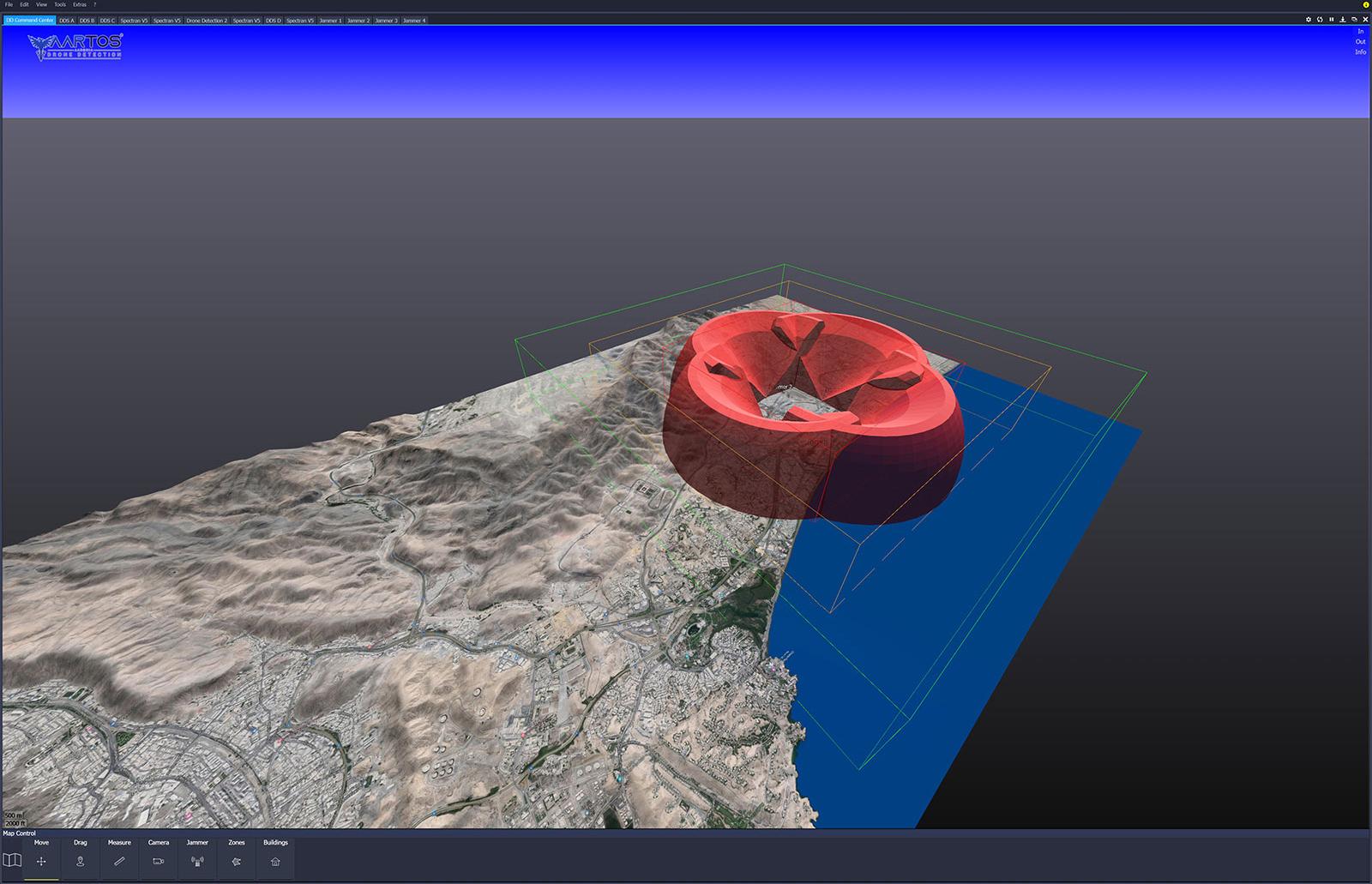 RTSA-Suite PRO - Jammer 3D