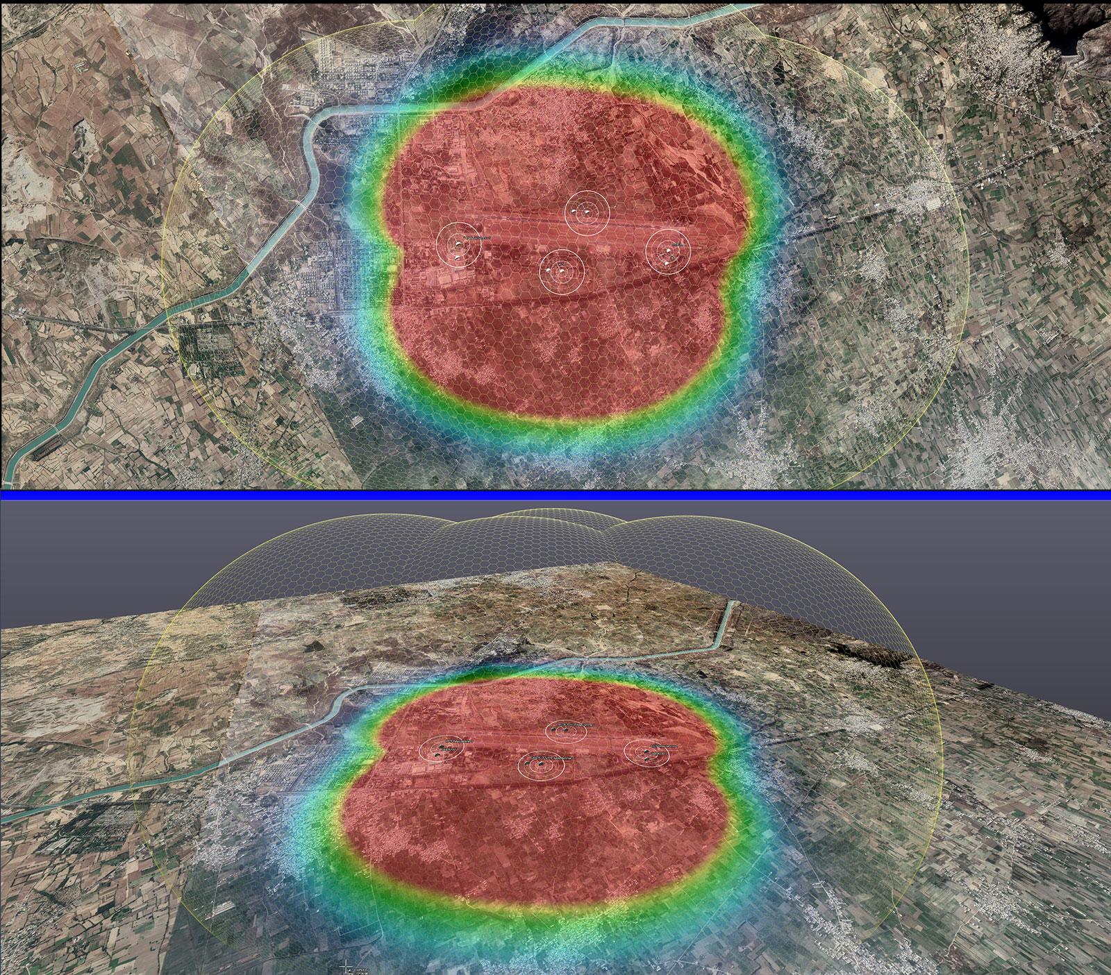 RTSA-Suite PRO - Zeitgleiche 2D/3D Livemap