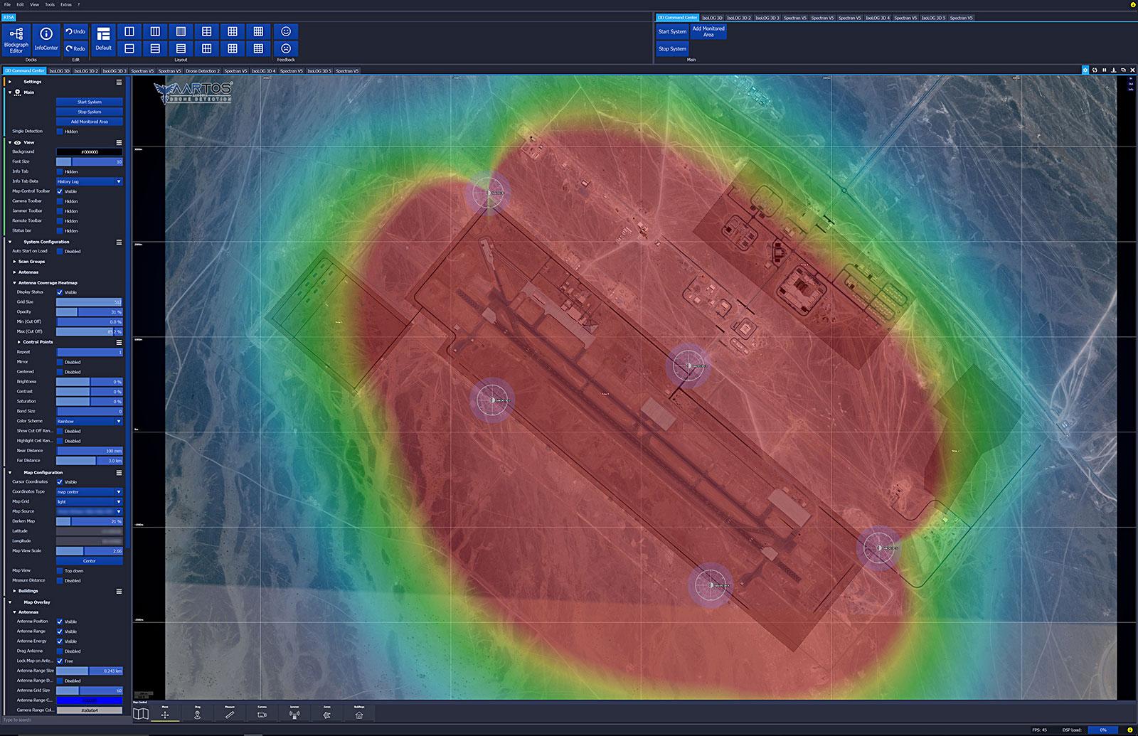 RTSA-Suite PRO - Detektionsgenauigkeit