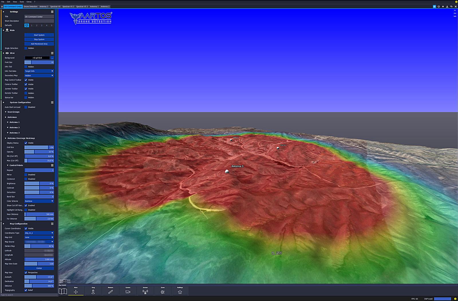 RTSA-Suite PRO - Heatmap