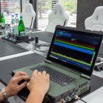 Überwachung eines Konferenzraumes mit dem SPECTRAN V6 MIL